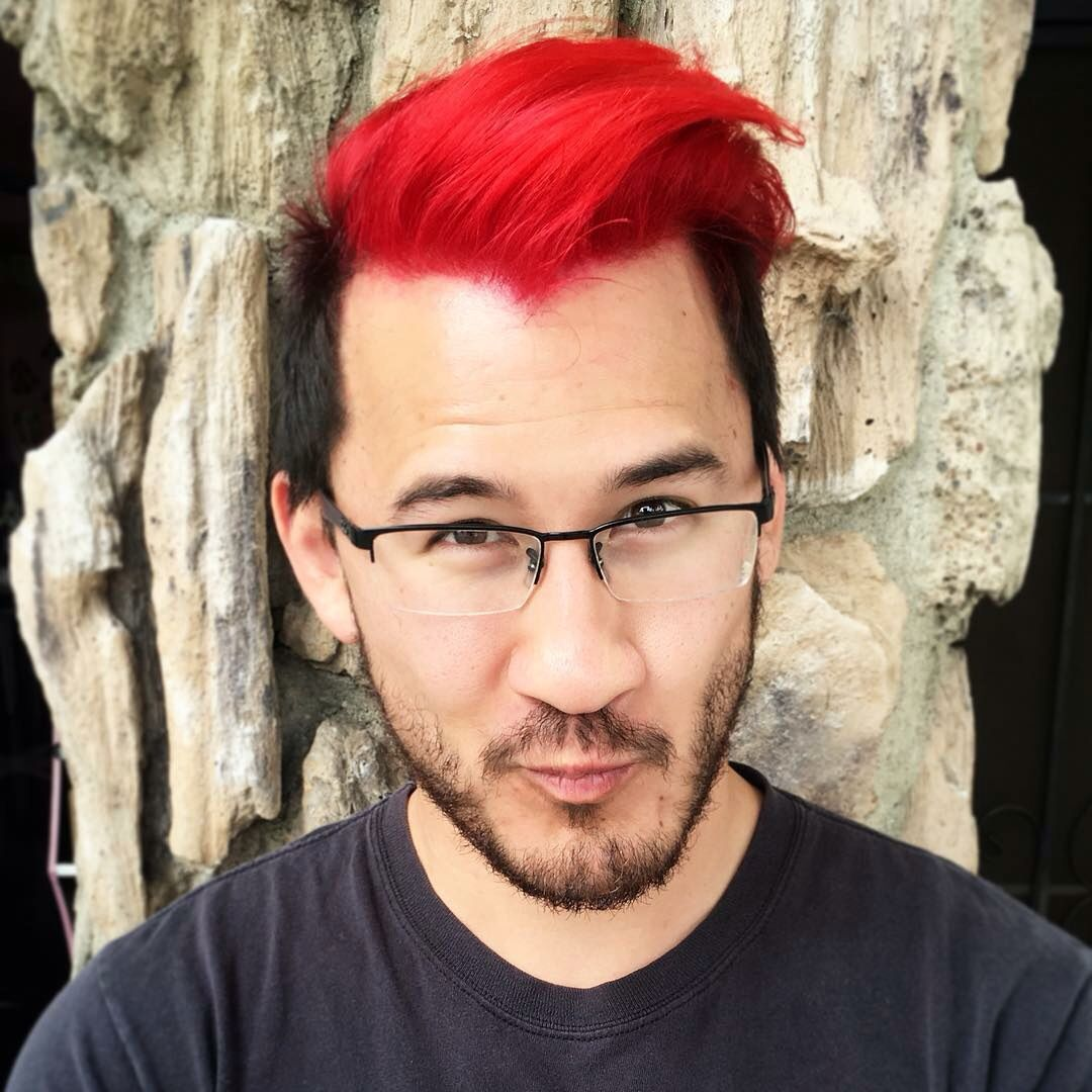 Markiplier With Red Hair Markiplier Hair Markiplier Markiplier Red Hair