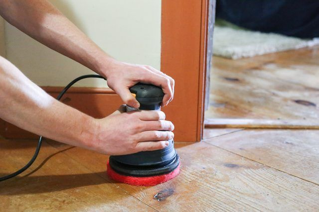 How to Refinish Old Wood Floors Without Sanding (With ...