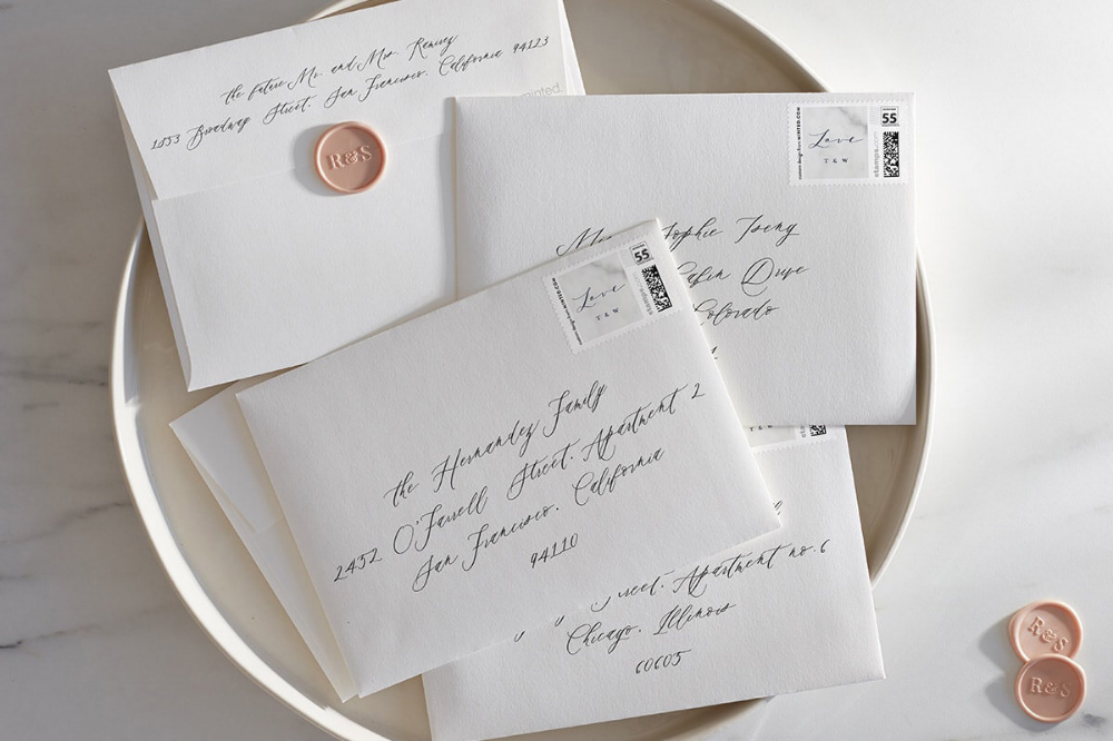 All About Envelopes How to Address your Wedding
