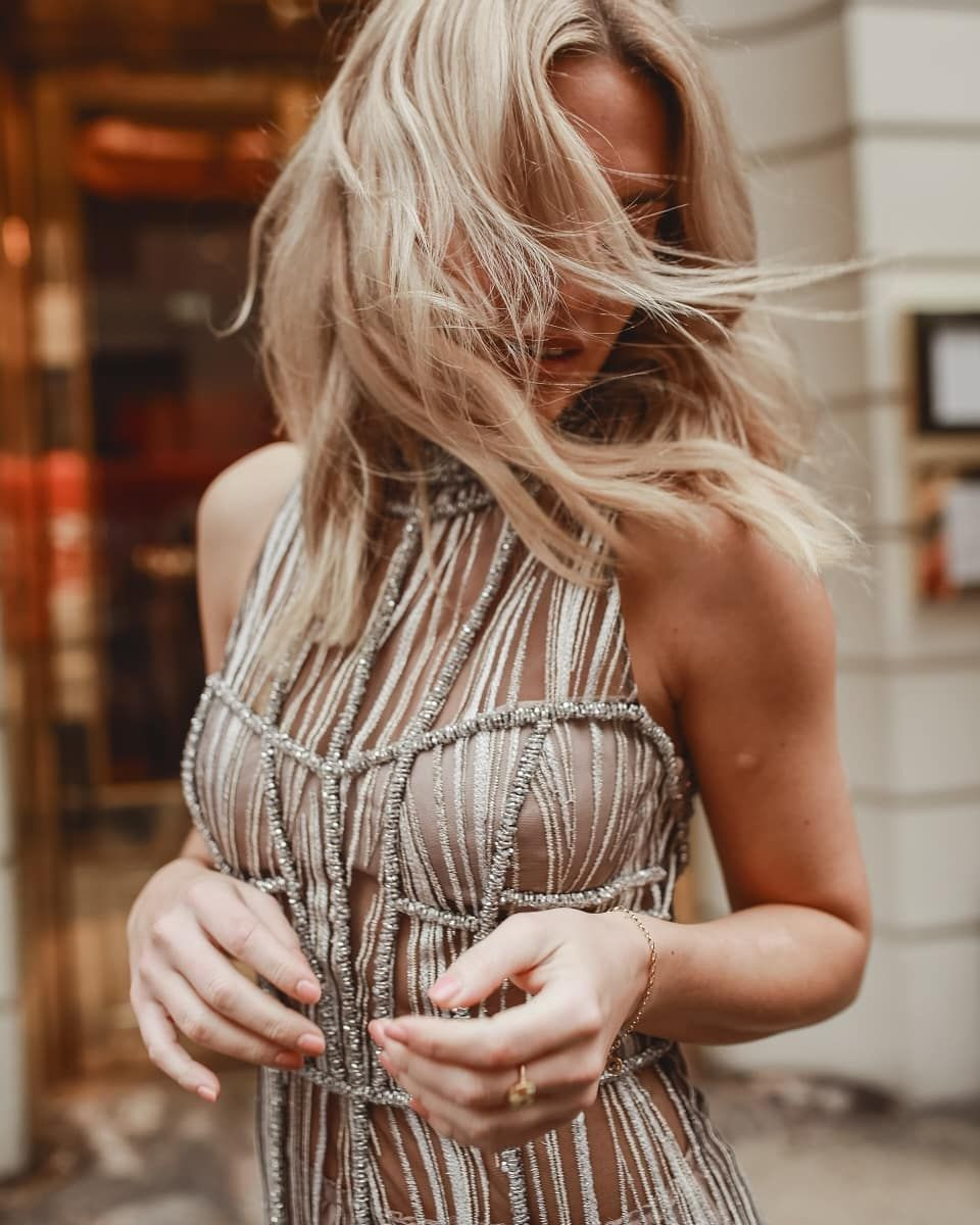 104425aaaf16a3 Amanda Wakeley and StyleLobster ready for the party season! Shot by Alise  Jane