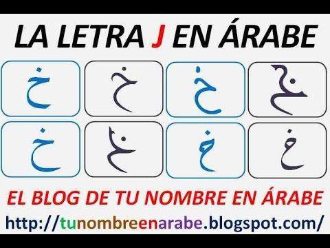 Abecedario Arabe Para Tatuajes Traducidas En Espanol Nombres En