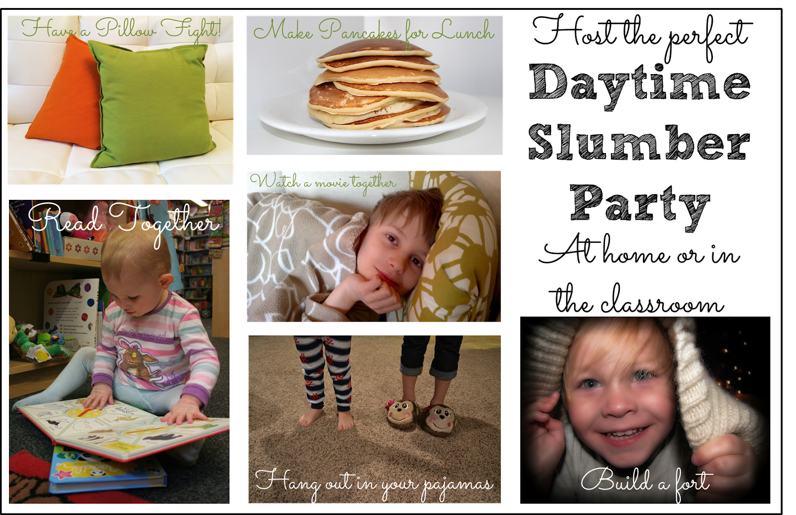 Activities And Ideas For A Preschool Slumber Party Or