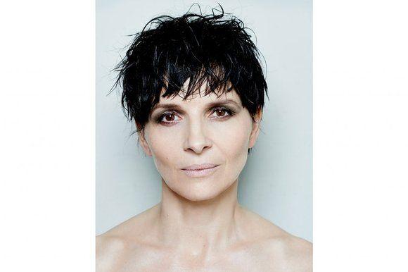 juliette binoche - short hair cut