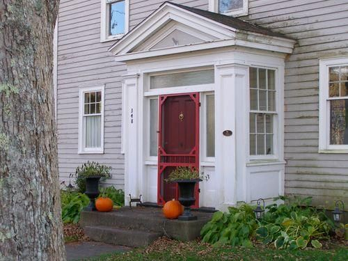 Perfect Enclosed Front Entry Porch, Great Idea For Our English Cottage.