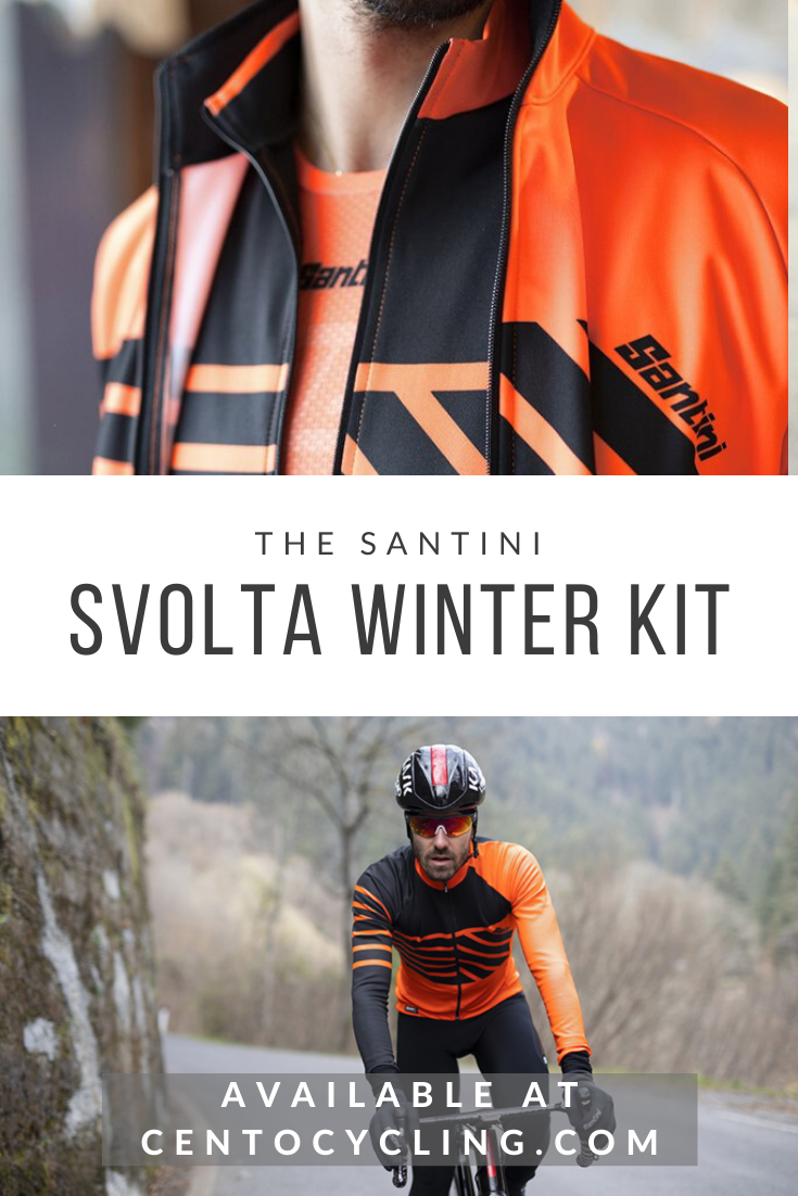 Vega Rain Resistant Cycling Bib Tight with GITevo Pad by Santini