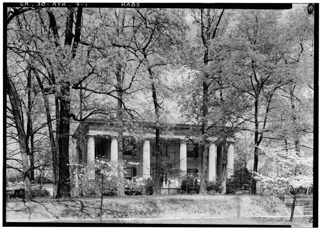 General R. D. B. Taylor House, 634 Prince Avenue, Athens, Clarke County, GA | GEORGIA ANTEBELLUM ...