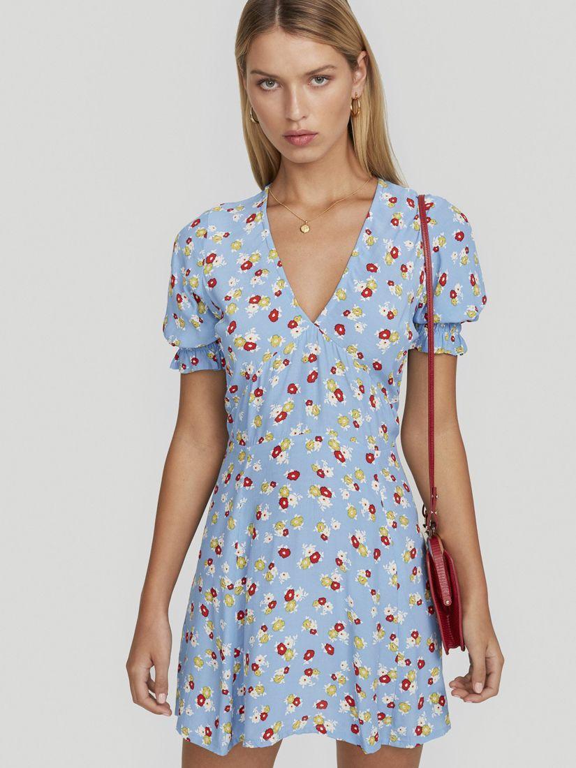 8e3ad507297 La Belle Dress Jasmine Floral Blue in 2019