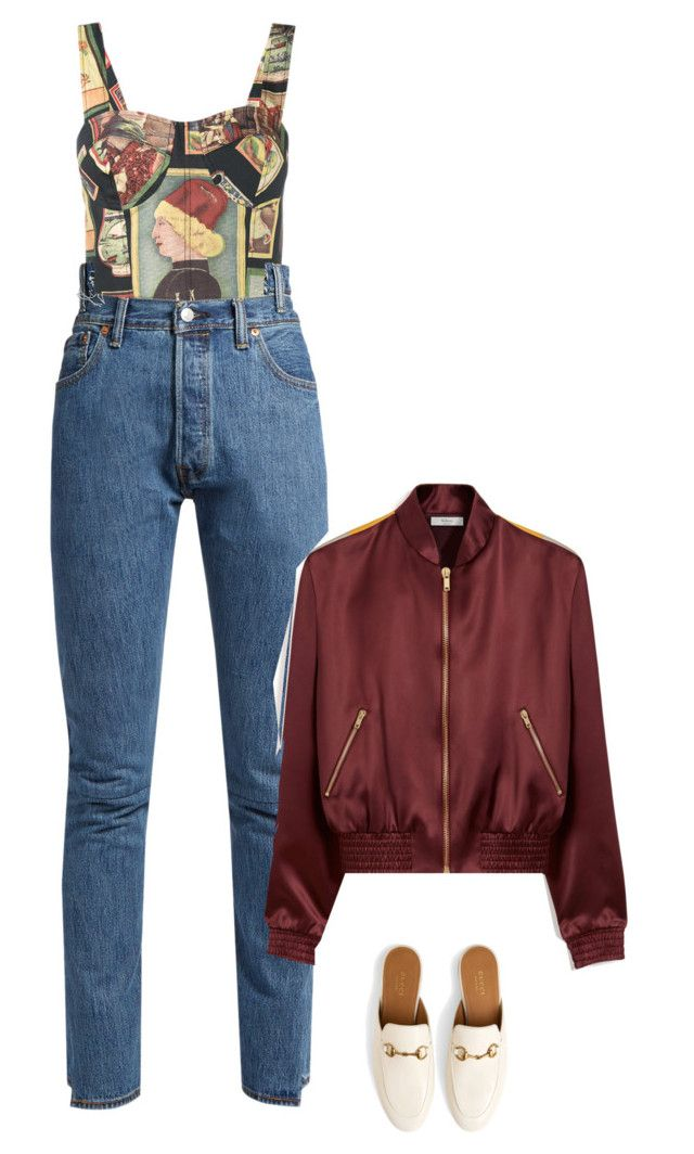 """Vibes"" by littlemissshannonelizabeth ❤ liked on Polyvore featuring Simon Miller, Gucci, Vetements and Mulberry"