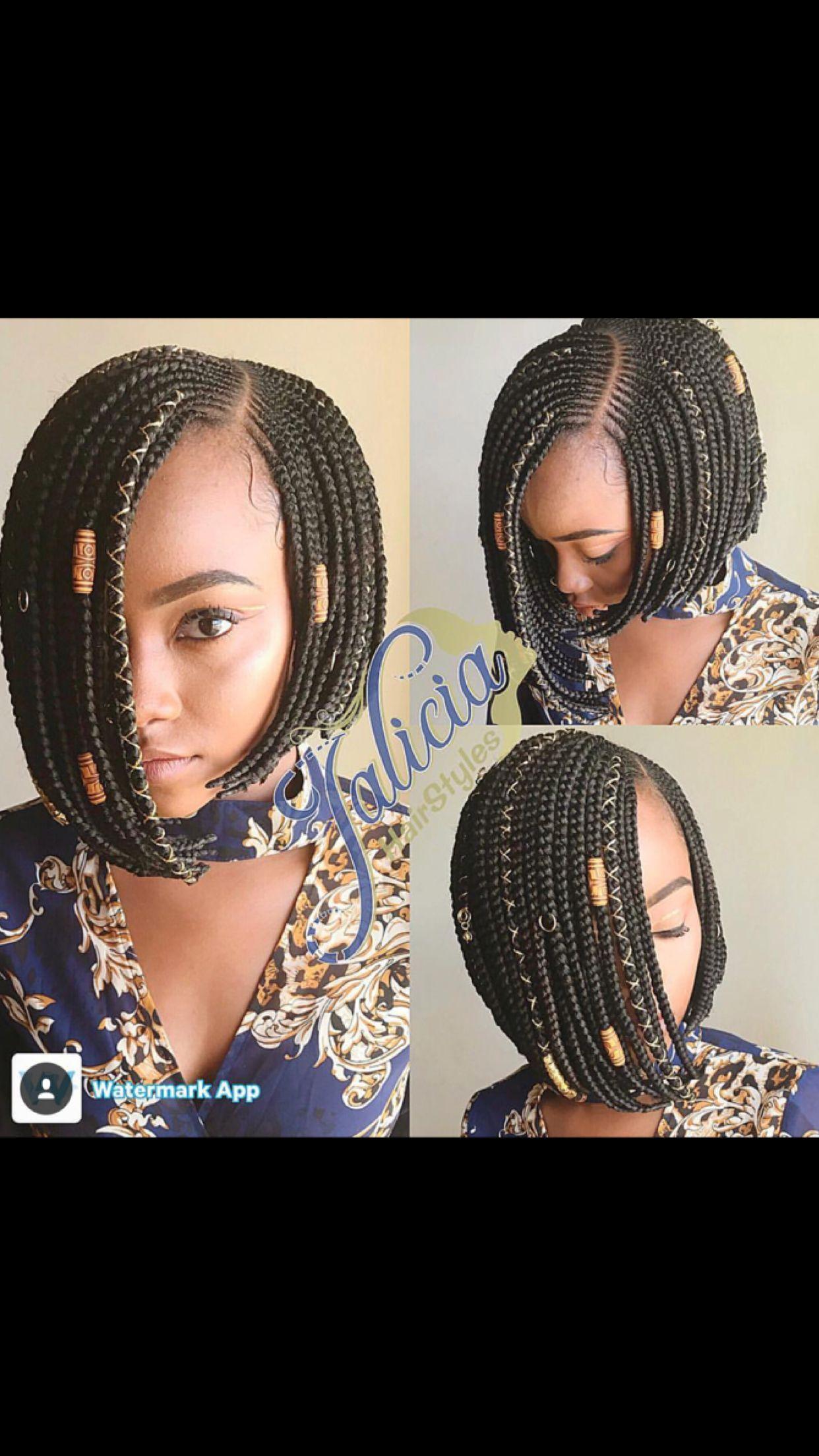 Bob Braids Bob Braids Hairstyles African Braids Hairstyles Bob
