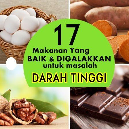 17 Makanan Yang Baik Untuk Turunkan Tekanan Darah Tinggi Makanan
