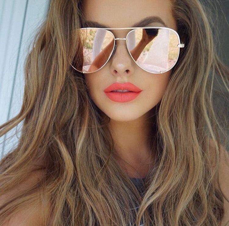 6e9fc2ab38 Quay X Desi Perkins High Key Rose Gold Sunglasses