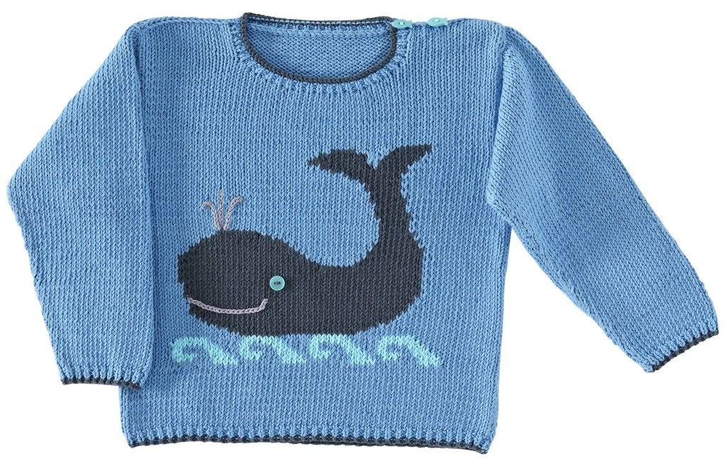 Le pull baleine de la droguerie rien que pour lui for Pull cachemire enfant