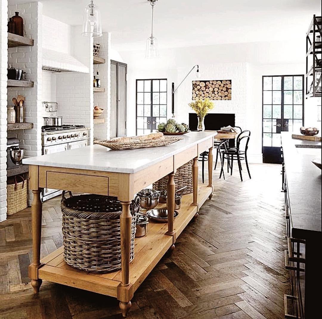 Pin de Diane Gilbert en Home   Pinterest   Cocinas, Casas y Isla cocina