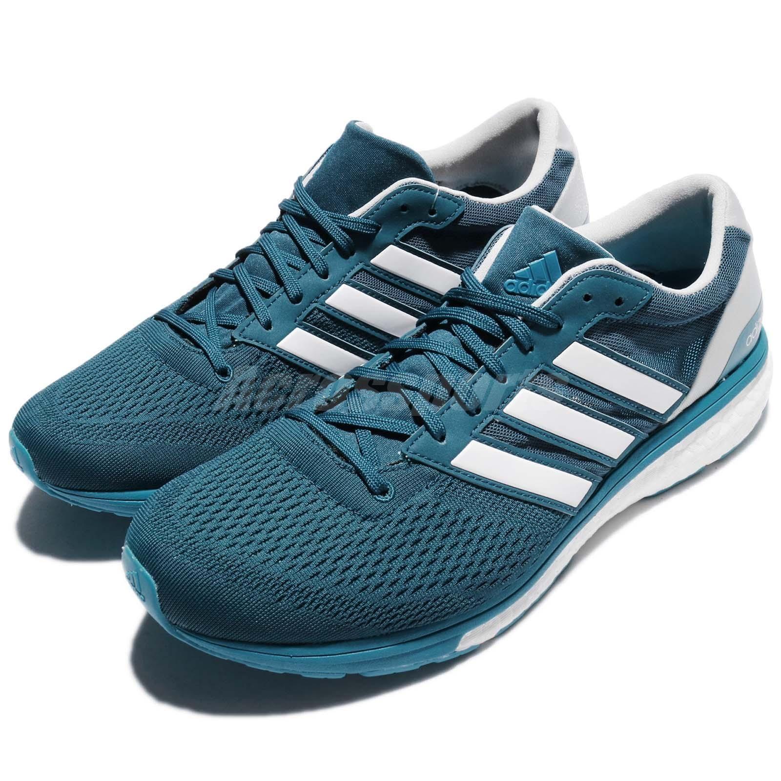 adidas Adizero Boston 6 M Omori BOOST Blue White Men Running Shoe Sneaker  CG3047 08f5e421d1ece