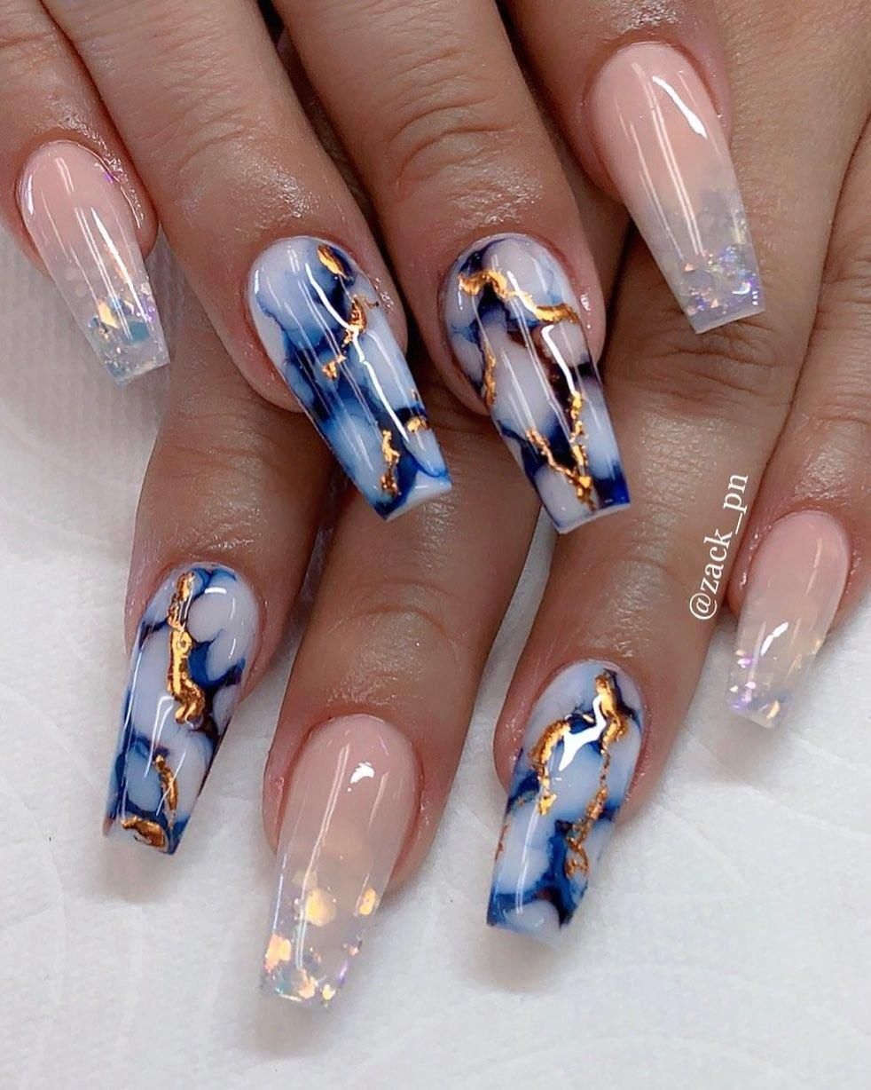 Installation Of Acrylic Or Gel Nails In 2020 Summer Acrylic Nails Coffin Nails Designs Pretty Acrylic Nails
