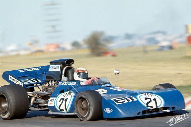 1971 Gp Argentyny Jackie Stewart Tyrrell 003 Ford Formula 1