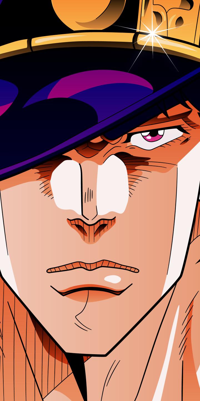 Jotaro Kujo Anime Jojo S Bizarre Adventure 720x1440 Mobile Wallpaper Jojo S Bizarre Adventure Anime Jojos Bizarre Adventure Jotaro Jojo Bizarre