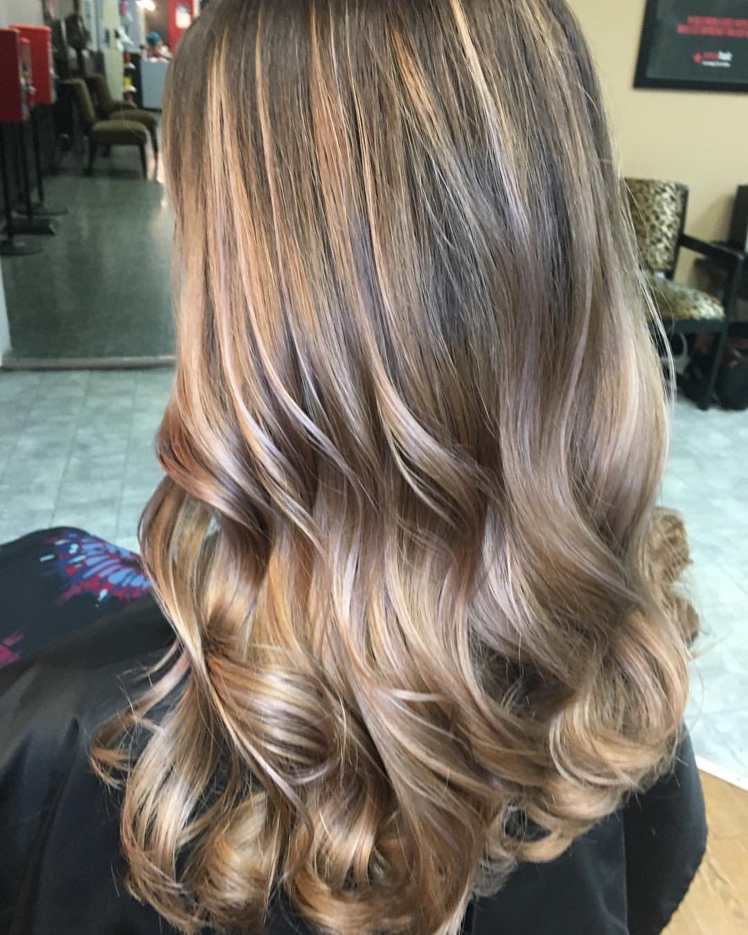 Beige blonde highlights 💞hair by Victoria Sylvis