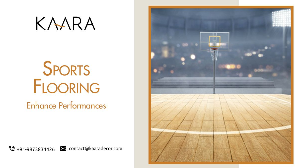 Looking to floor an indoor sports arena? Gym?. KAARA's best Sports Flooring India that helps you in enhancing your performances. For buying/enquiries call us at +91-9873834426 OR mail us your details at contact@kaaradecor.com #Sportsflooring #kaara #kaaradecor #Flooring #sportsfloors #BestOffer #sports