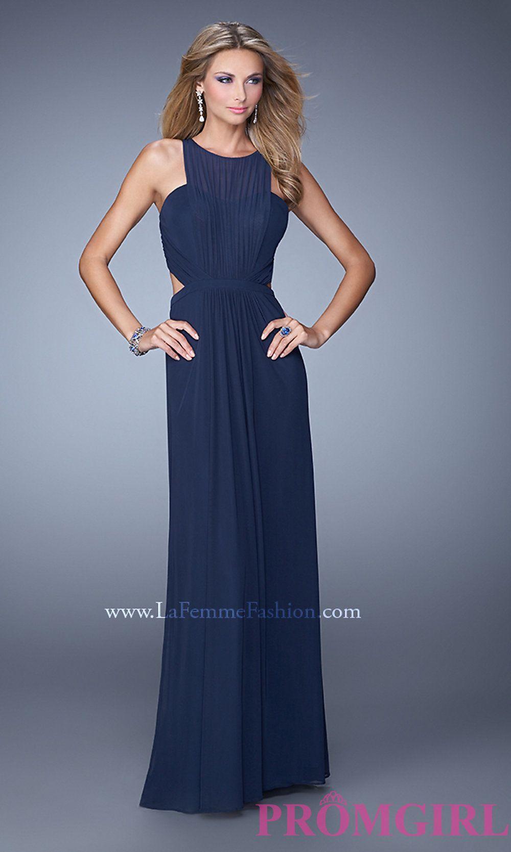 La Femme Long High Neck Prom Dress LF-21187 | Prom 2016: La Femme ...