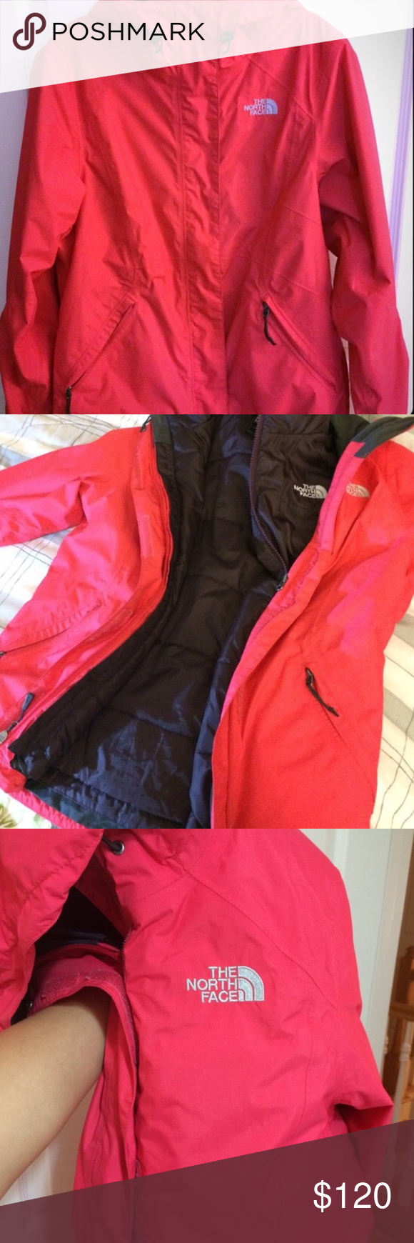 The North Face Hyvent 2 In 1 Ski Rain Jacket Clothes Design Fashion Trends Fashion [ 1740 x 580 Pixel ]