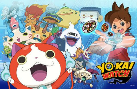 Yo Kai Watch Video Game Launches On November 6 Nintendo Yokaiwatch Yo Kai Watch 2 Anime Pokemon