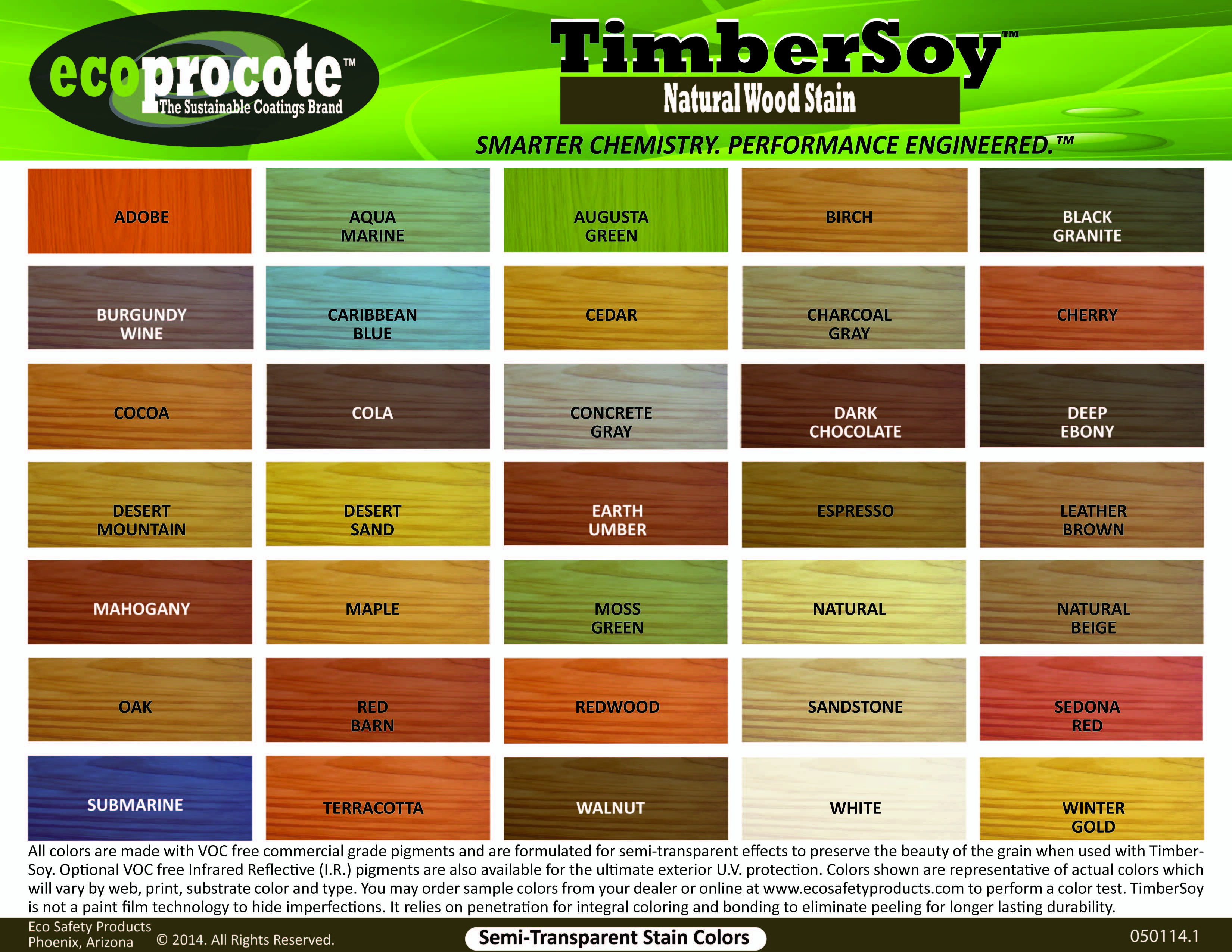 Timbersoy Natural Wood Stain Color Chart Virtually Unlimited Wood Stain Colors Including Our No Fade I Staining Wood Natural Stain Wood Wood Stain Color Chart