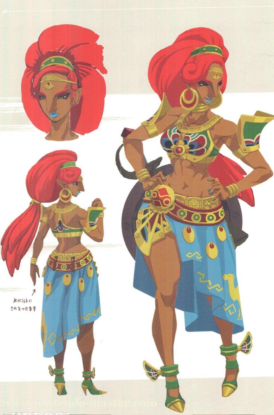 Zelda Character Design Breath Of The Wild : New concept art from the legend of zelda breath