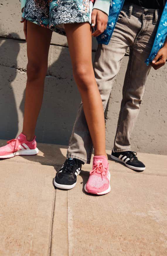 ae56fbac19a6 adidas Swift Run J Sneaker (Baby