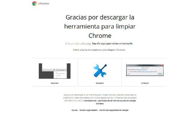 Herramientas Una Aplicacion Que Limpia Google Chrome En Windows