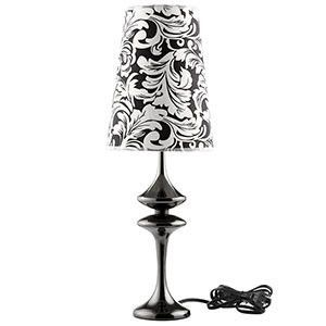 Illusion Table Lamp Black