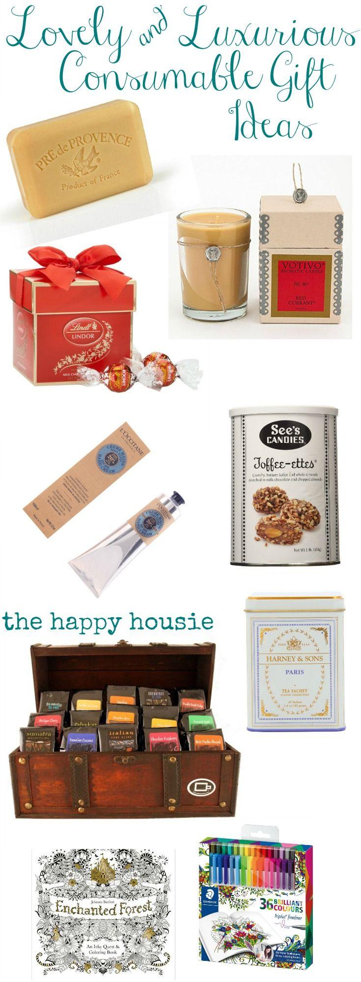 Lovely & Luxurious Consumable Gift Ideas   Christmas Ideas & Decor ...