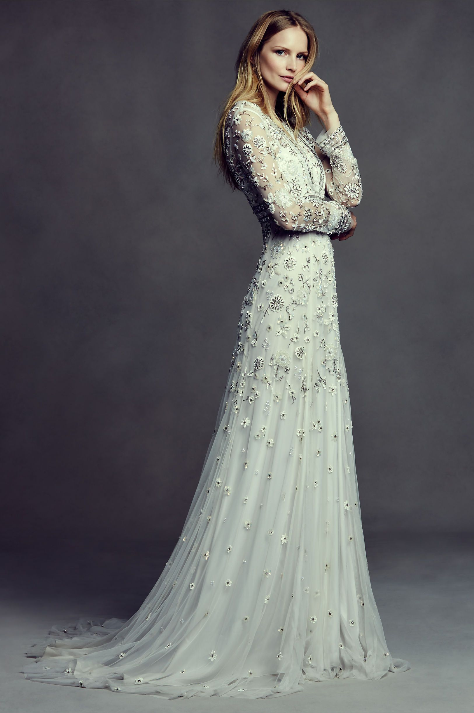 BHLDN Tabitha Gown in Bride Wedding Dresses at BHLDN (med