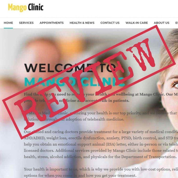 ESA Letter From Mango Clinic Review Emotional support