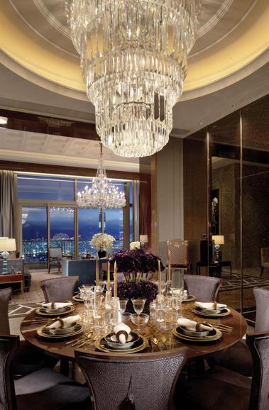 Steve Leung Design Classic Interior Design Elegant Dining Room