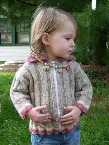 Free Knitting Pattern Toddler Childrens Clothes Accordion