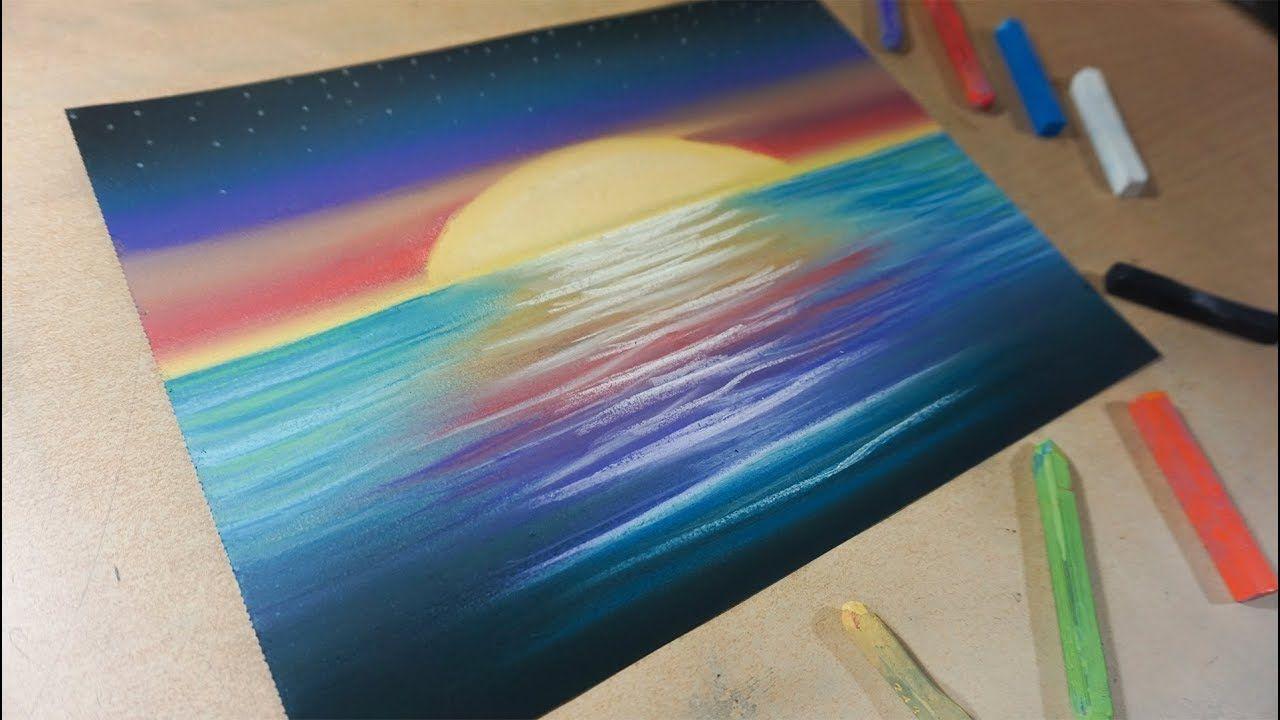 Como Dibujar Un Paisaje Con Colores Paso A Paso Dibujo Para
