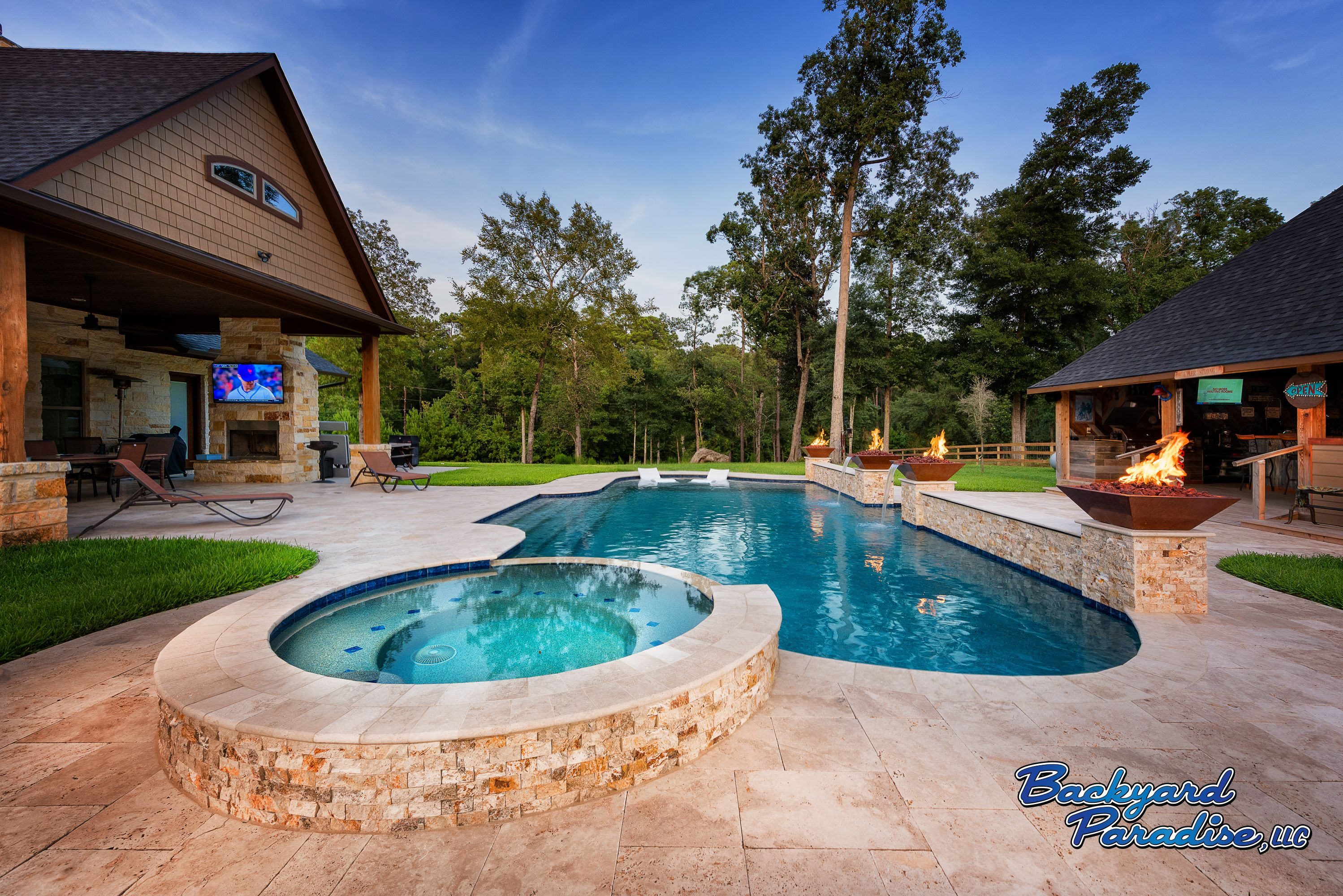 Pin By Backyard Paradise Pools Pati On Luxury Swimming Pools Luxury Swimming Pools Pool Patio Paradise Pools