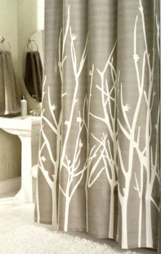 Attirant Hotel Twenty One Cotton Shower Curtain Branches Tree