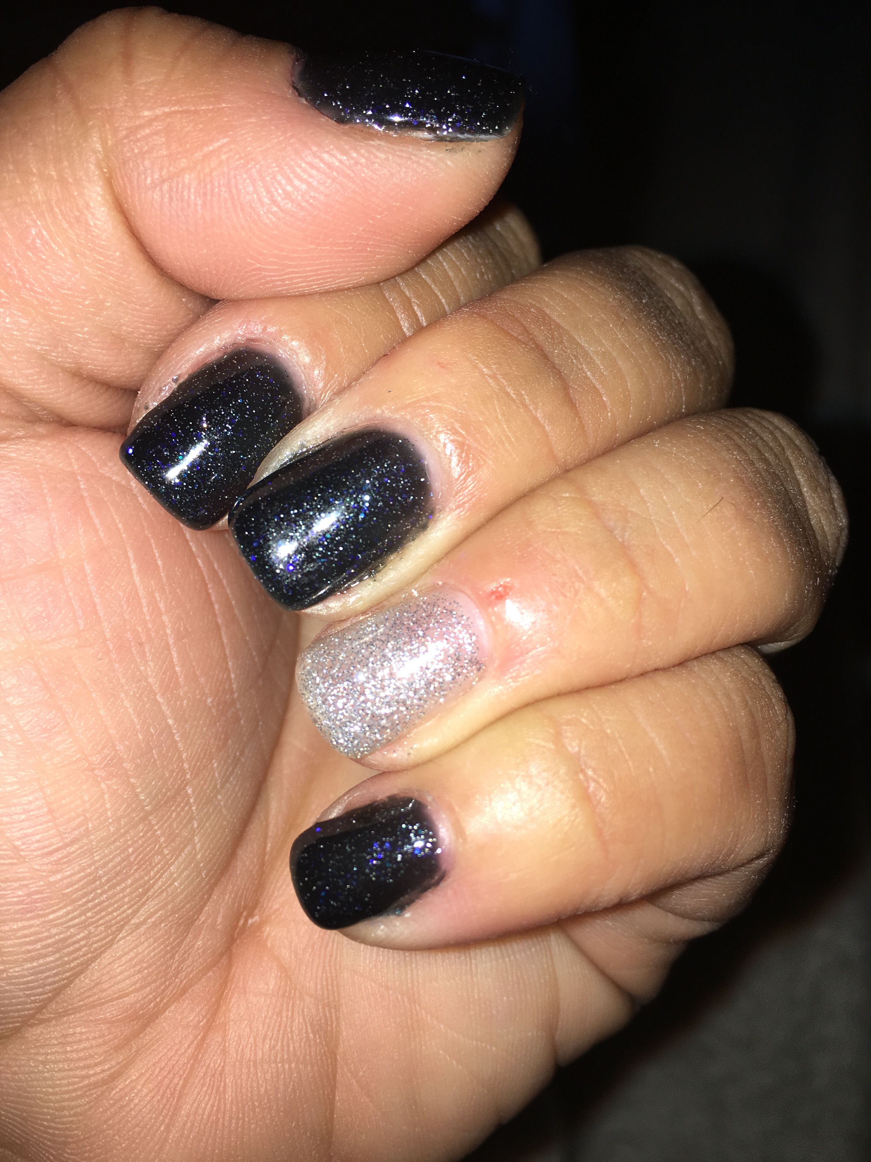 DND gel polish! Sea by Night and Fairy Wings! Perfect for New Years ...