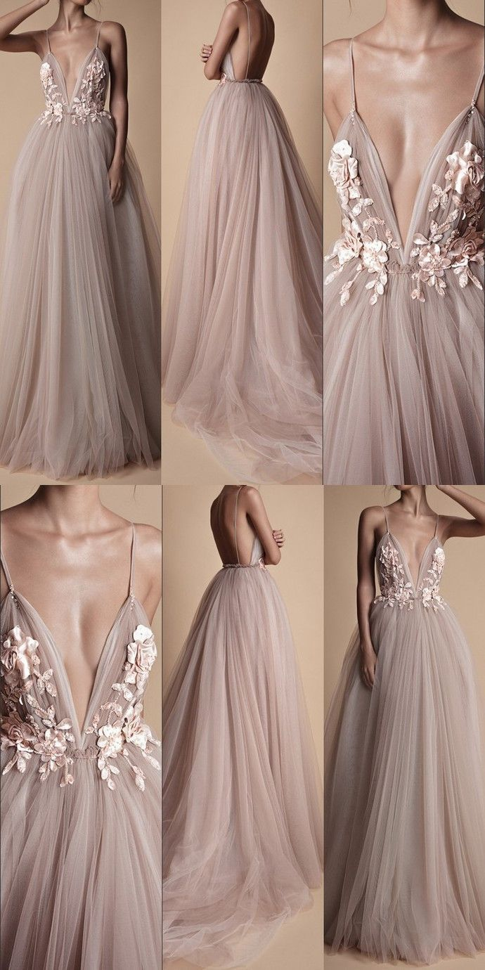 Prom Dresses, Long Prom Dresses, Prom Dresses , Backless Pro...- Prom Dresses, Long Prom Dresses, Prom Dresses , Backless Prom Dresses  Mauve floral wedding dress with tulle  -#AbschlussKleidblau #AbschlussKleidkurz #AbschlussKleidlang #AbschlussKleidrot #promdresses