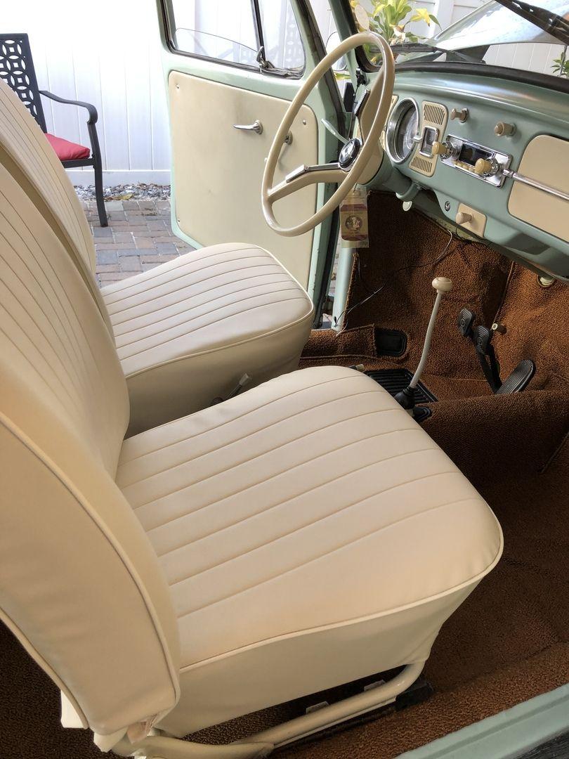 1965 1966 Vw Beetle Sedan Smooth Vinyl Interior Kit Classic Volkswagen Beetle Classic Volkswagen Beetle