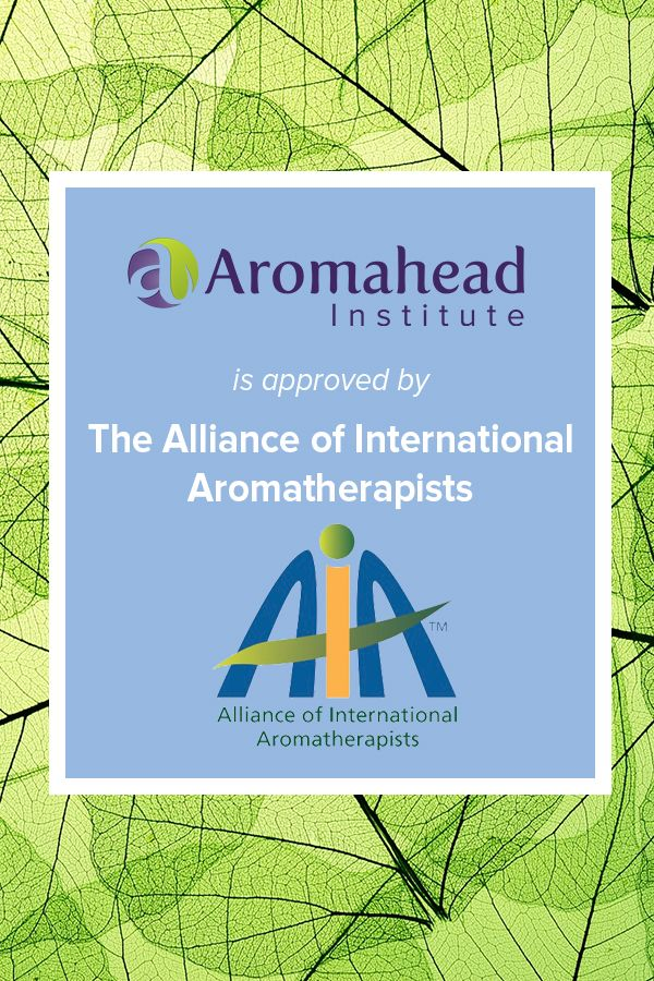 Were Approved By Aia Since 2009 Aromahead Institute Was The First