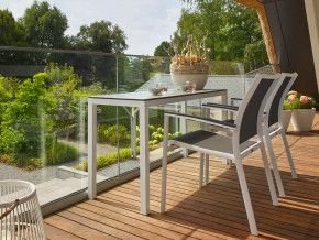 Gezellig Zonnig Balkon : De compacte axel tuinset is gemaakt voor twee personen gezellig