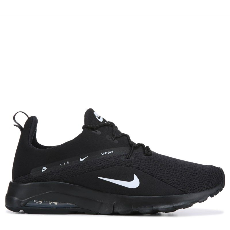 in stock d4d8d 4f565 Nike Men s Air Max Motion Racer 2 Sneakers (Black White)