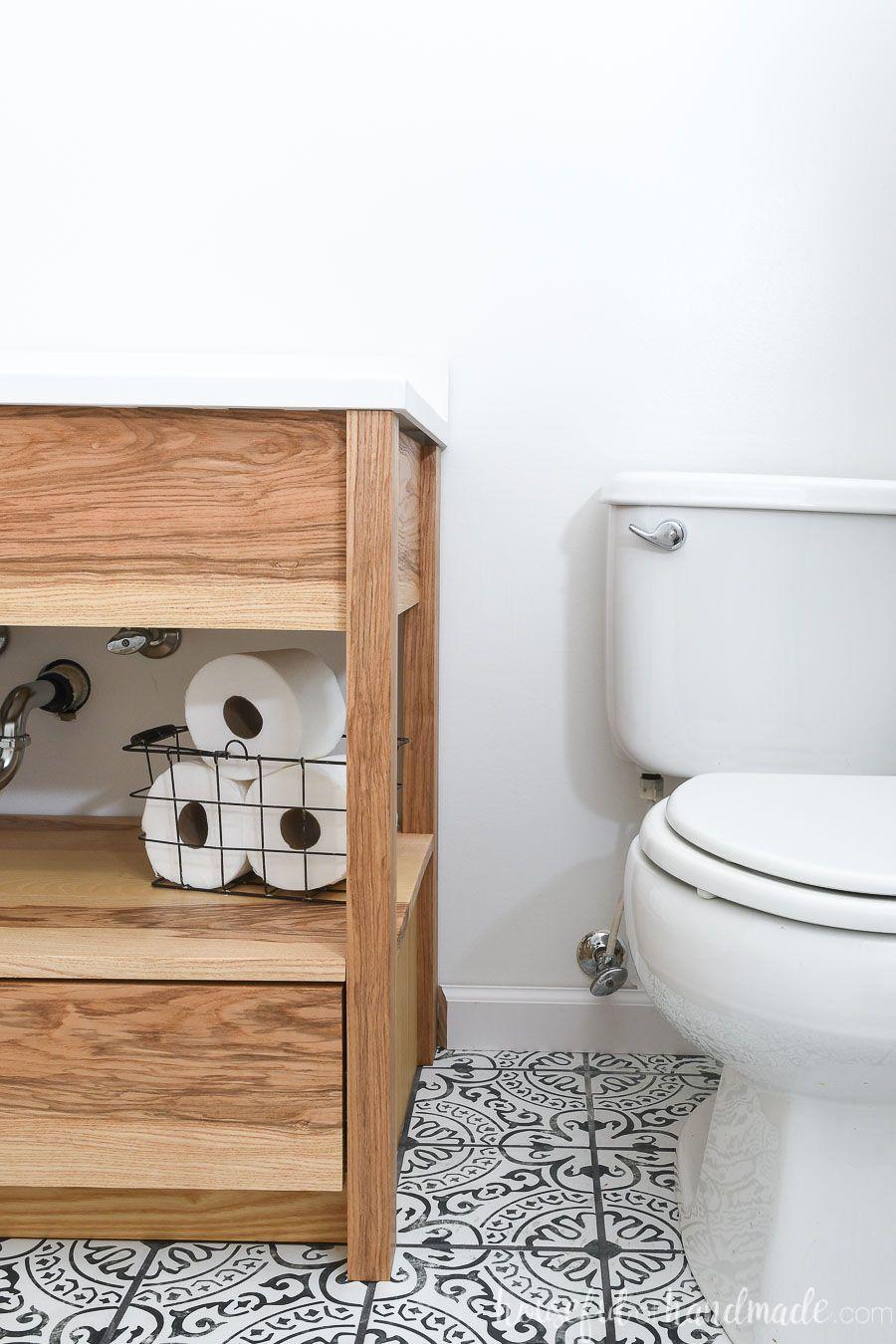 Diy Bathroom Vanity With Bottom Drawers Diy Bathroom Vanity Modern Bathroom Vanity Bathroom Design [ 1350 x 900 Pixel ]
