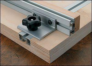 querre pour coulisses en t veritas travail du bois. Black Bedroom Furniture Sets. Home Design Ideas