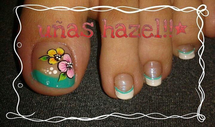 Resultado de imagen para deko u as para pies nails in - Unas de pies decoradas ...