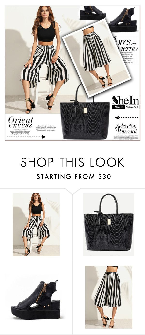 """SheIn"" by janee-oss ❤ liked on Polyvore featuring Nicole, Sheinside, polyvoreeditorial and shein"
