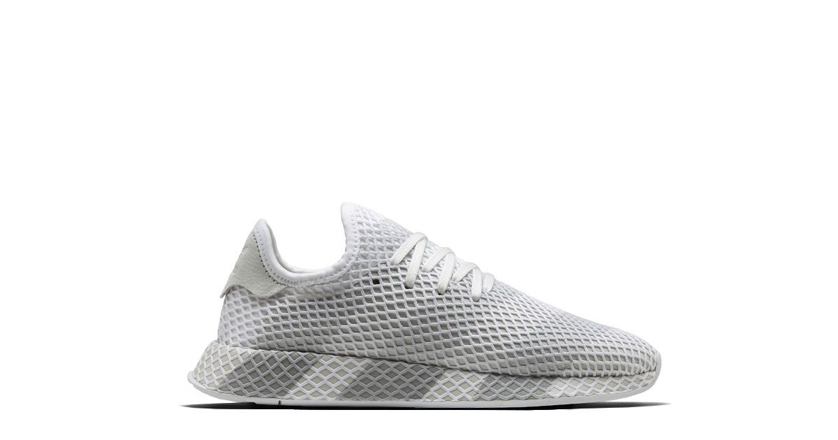pick up 7976c 342cf Adidas Consortium Deerupt Runner Grau Weiss Release 07.04.2018 Colorway  GrauWeiss